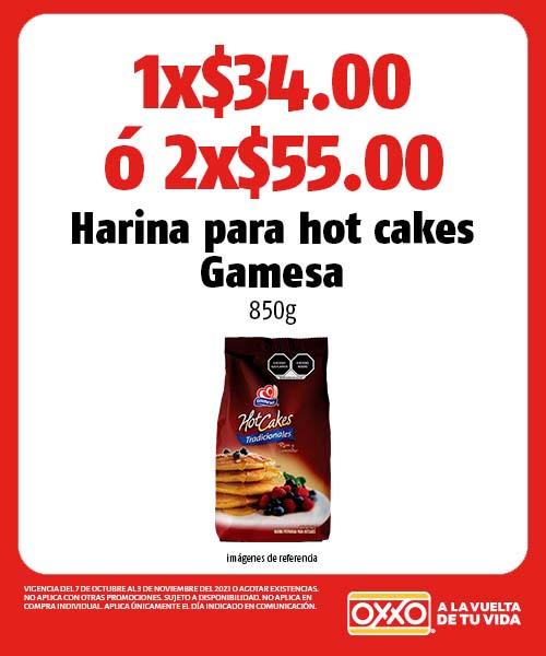 Harina para hot cakes Gamesa