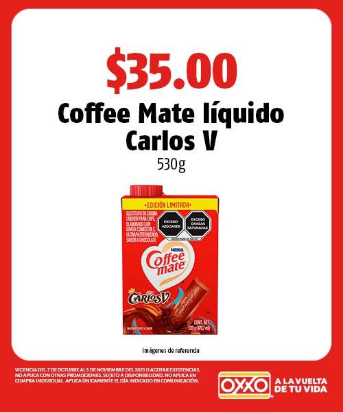 Coffee Mate líquido Carlos V