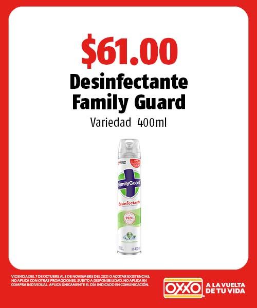 Desinfectante Family Guard