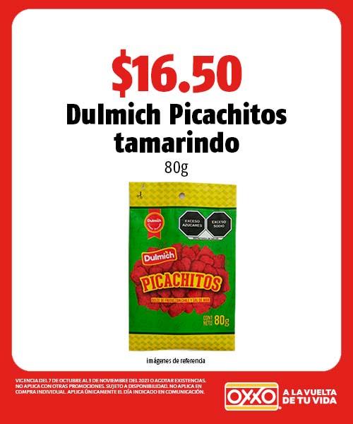 Dulmich Picachitos tamarindo