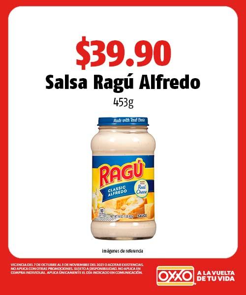 Salsa Ragú Alfredo