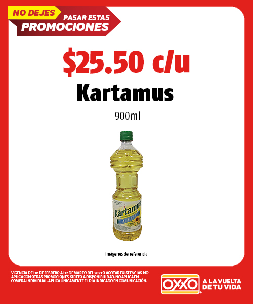 Kartamus 900ml