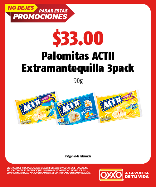 Palomitas ACTII Extramantequilla
