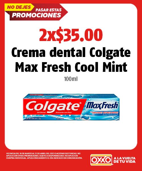 Crema Dental Colgate Max Fresh Cool Mint 100ml