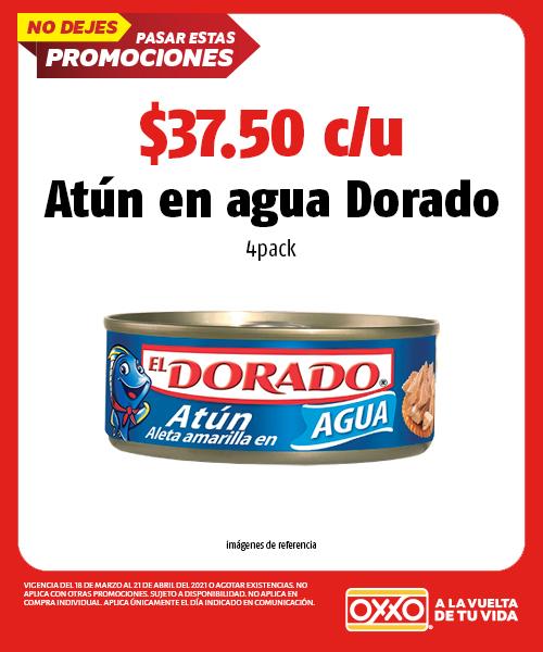 Atun En Agua Dorado 4pack