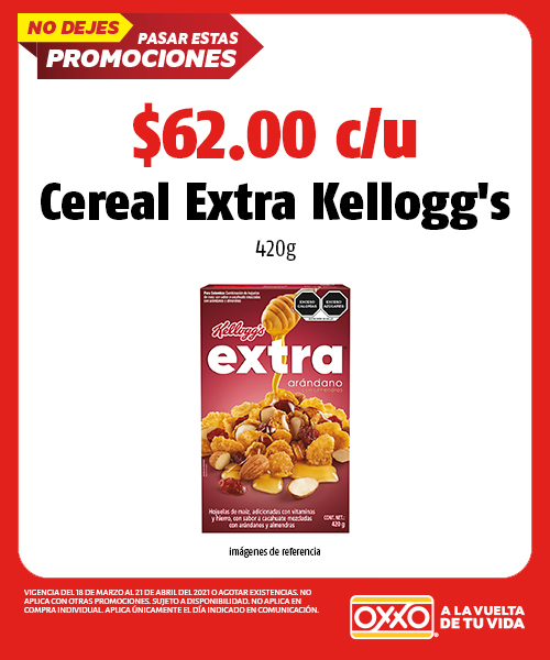 Cereal Extra 420g Kelloggs