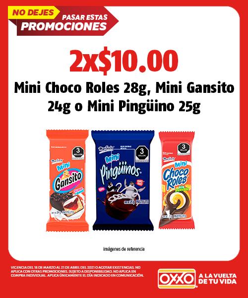 Mini Choco Roles 28gr,