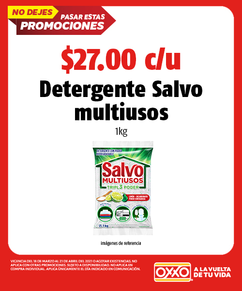 Detergente Salvo Multiusos 1 kg