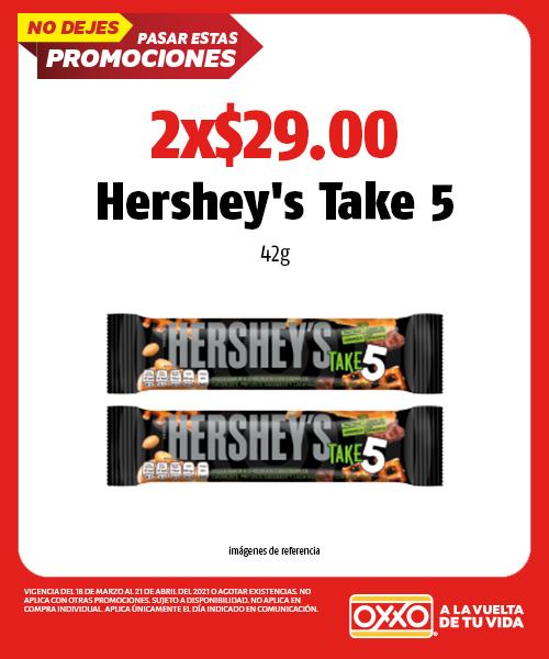 Hersheys TAKE 5