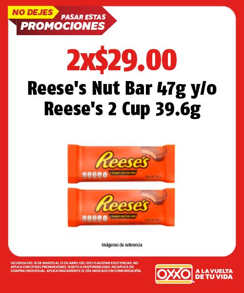 Reeses Nut Bar 47g yo