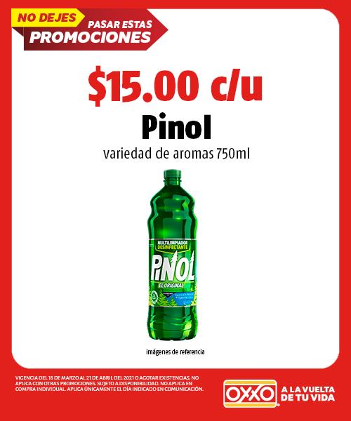 Pinol variedad de aromas 750ml