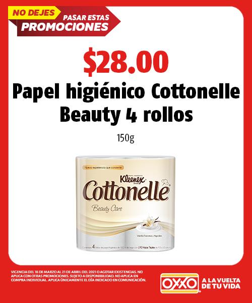 Papel Higiénico Cottonelle Beauty 4
