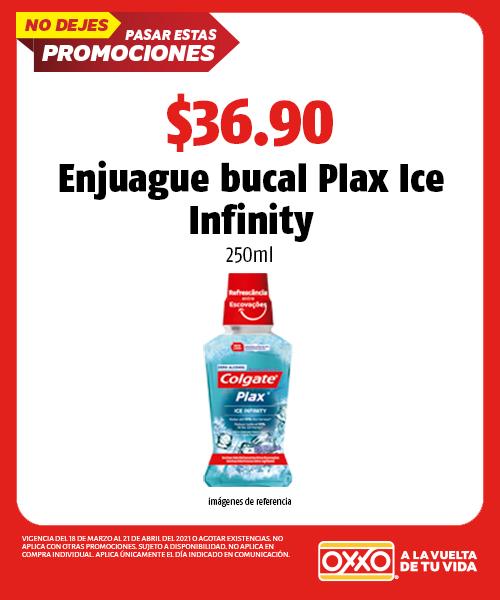 Enjuague Bucal Plax Ice Infinity 250ml