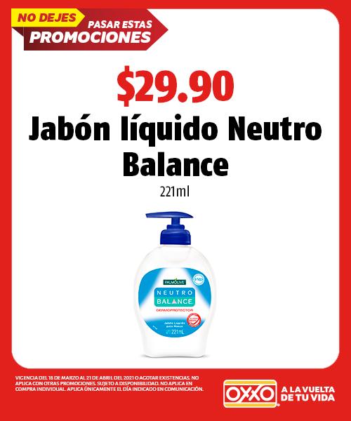 Jabón Líquido Neutro Balance