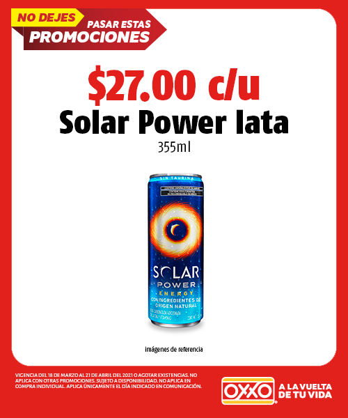 Solar Power lata 355 ml