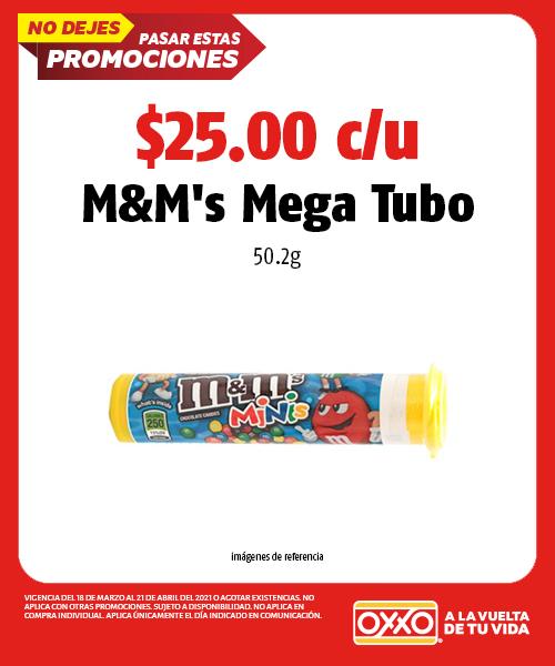MMs Mega Tubo 50.2grs