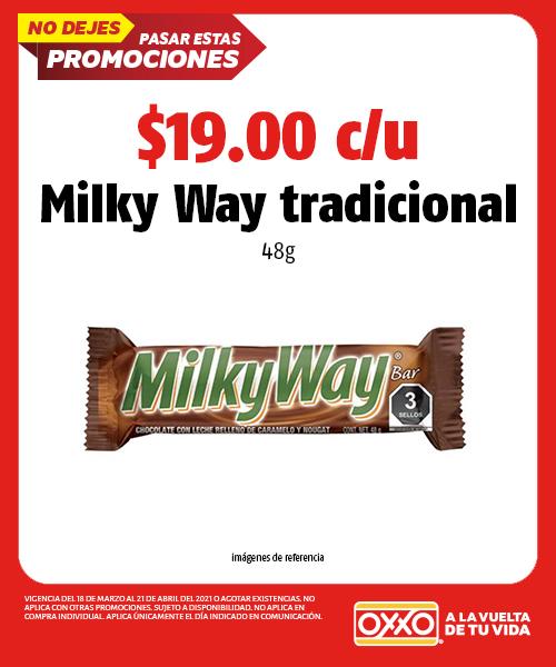 Milky Way Tradicional 48gr