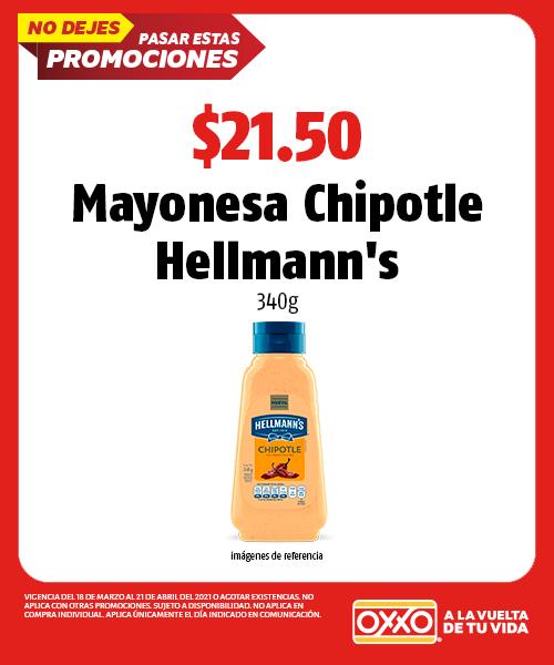 Mayonesa Chipotle Hellmanns