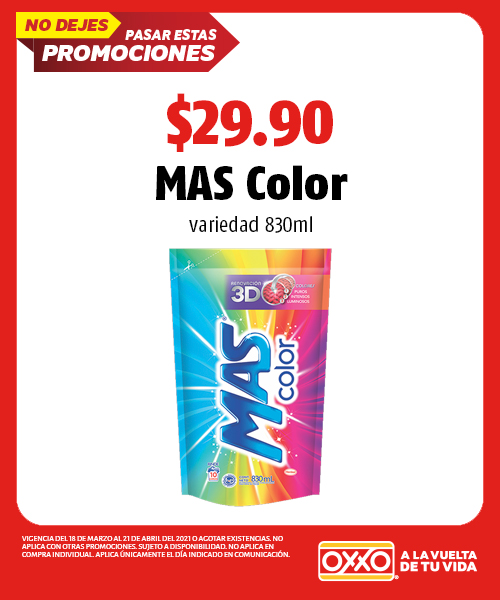 MAS Color 830ml