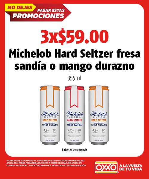 Michelob Hard Seltzer Fresa Sandia