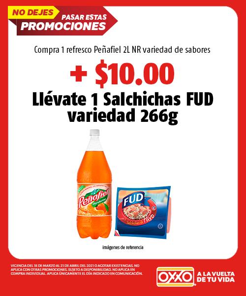 Compra 1 Refresco Peñafiel 2 Litros NR variedad de sabores