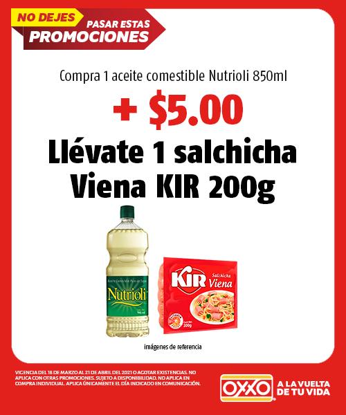 Compra 1 Aceite Comestible Nutrioli 850ml