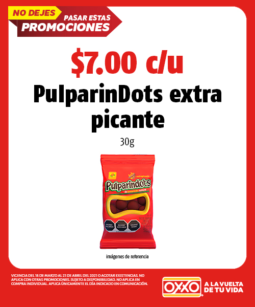 Pulparindots Extra Picante 30 gr