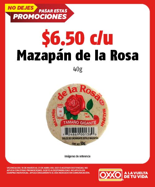 Mazapán de la rosa 40g