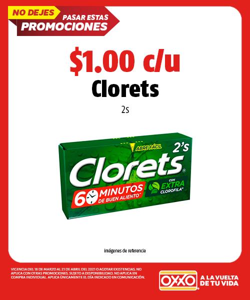 Clorets 2s