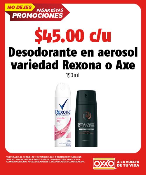 Desodorante en Aerosol