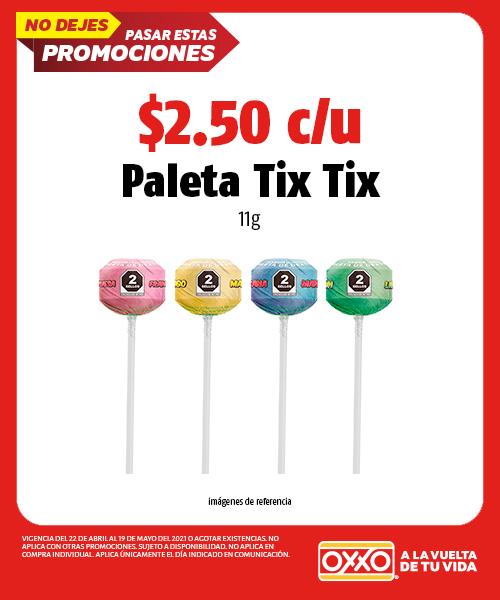 Paleta Tix Tix