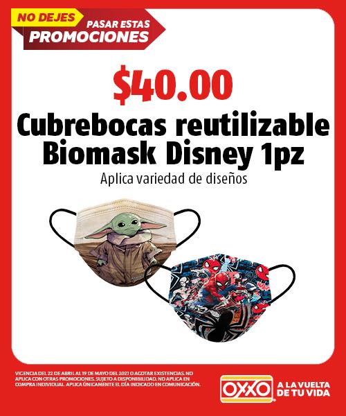 Cubrebocas Reutilizable