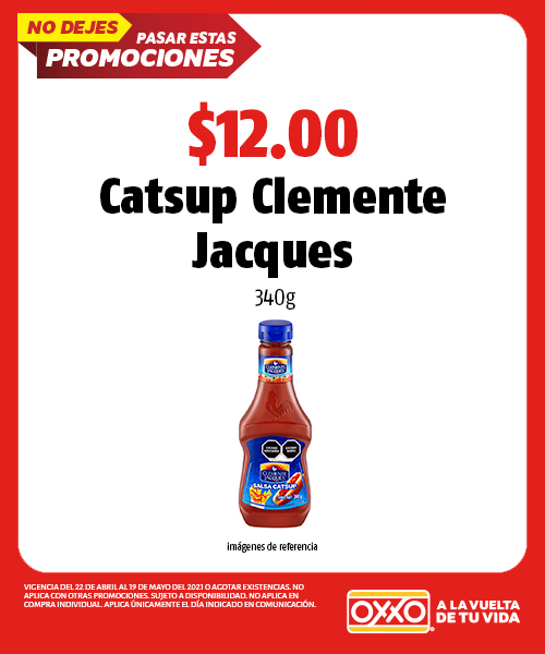 Catsup Clemente Jacques