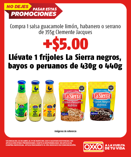 Compra 1 Salsa Guacamole Limon, Habanero o Serrano 355gr Clemente Jacques