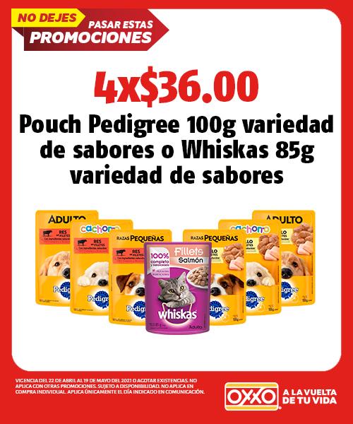 Pouch Pedigree 100gr variedad de sabores