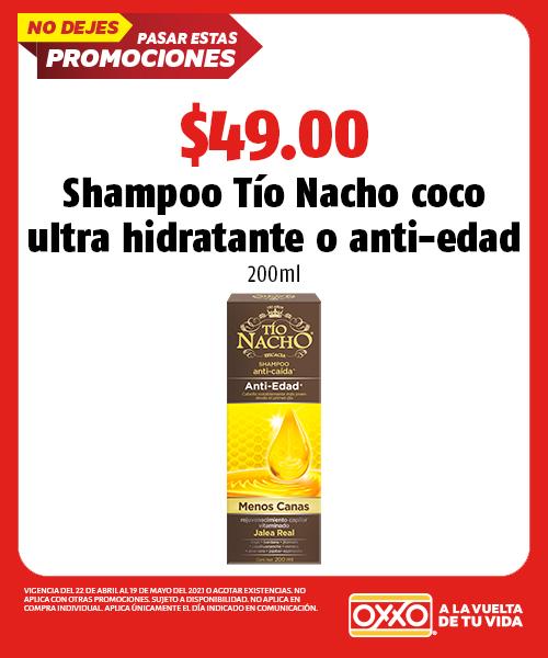 Shampoo Tío Nacho Coco