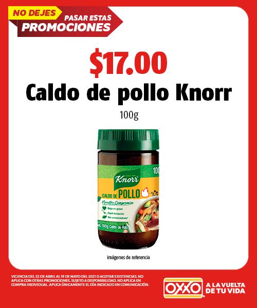 Caldo de pollo Knorr