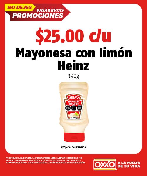 Mayonesa con Limón Heinz