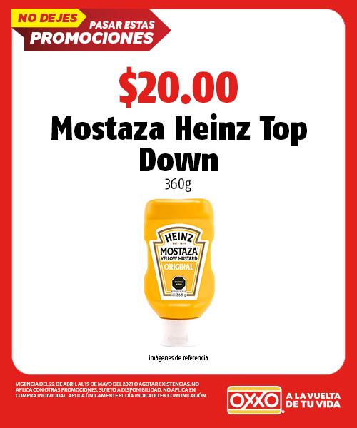 Mostaza Heinz