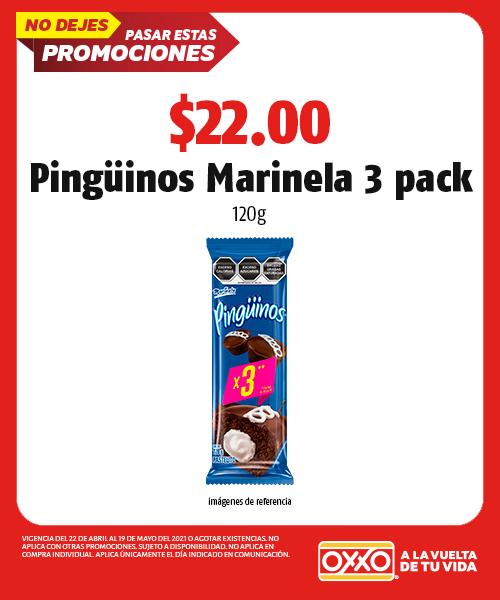 Pinguinos 3 pack