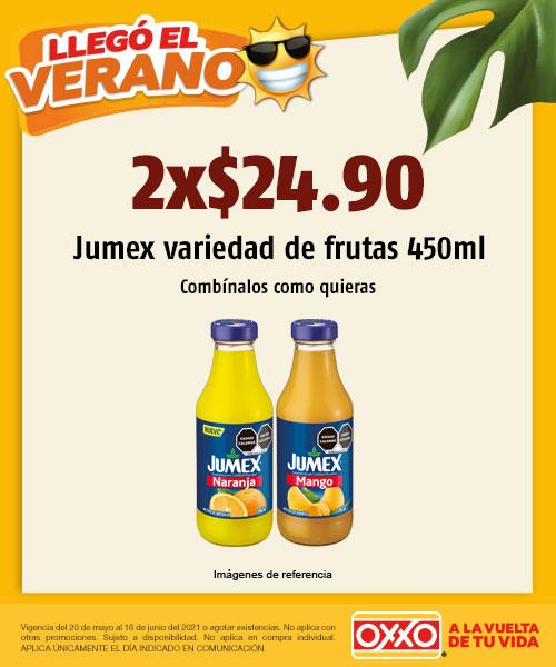 Jumex 450 ml Variedad de Frutas