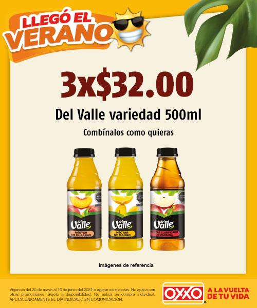 Del Valle 500 ml Variedad