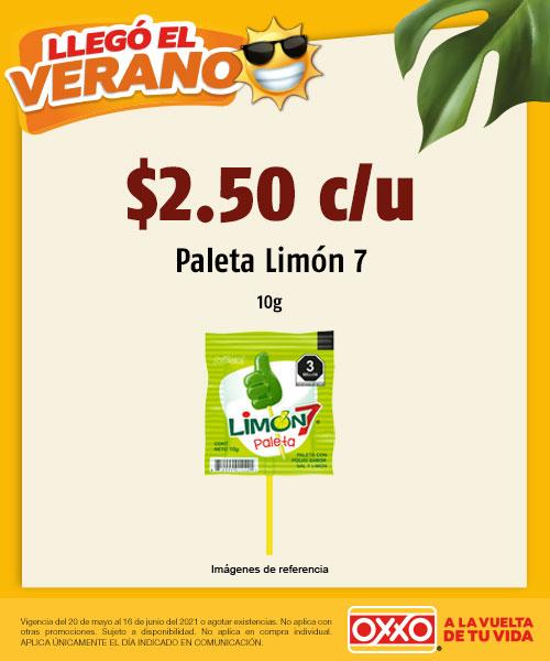 Paleta Limón
