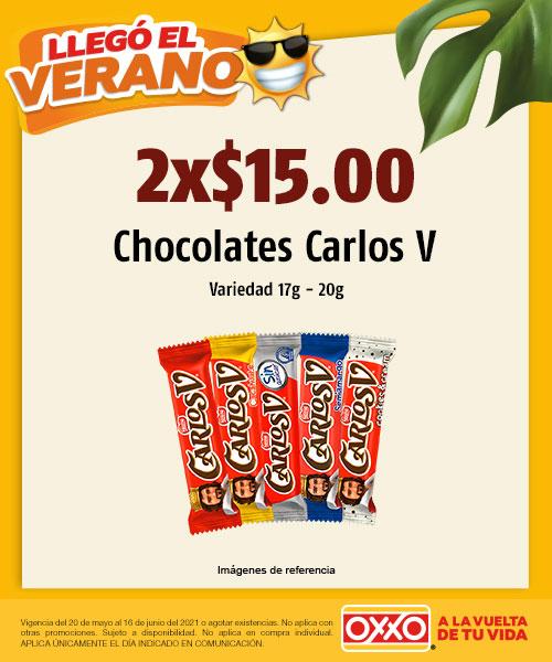 Chocolates Carlos V