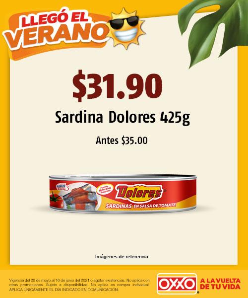 $35.00 Sardina