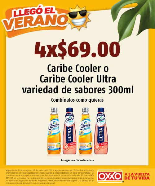 Caribe Cooler o Caribe Cooler Ultra Variedad Sabores 300 ml