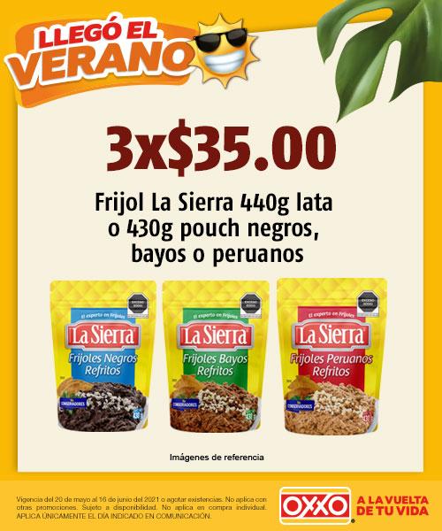 Frijol La Sierra 440gr Lata o 430gr pouch