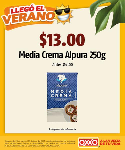 $14.00 Media Crema Alpura