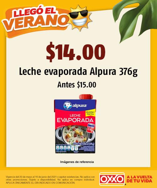 $15.00 Leche Evaporada Alpura
