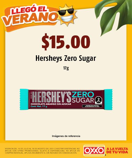 Hersheys Zero Sugar